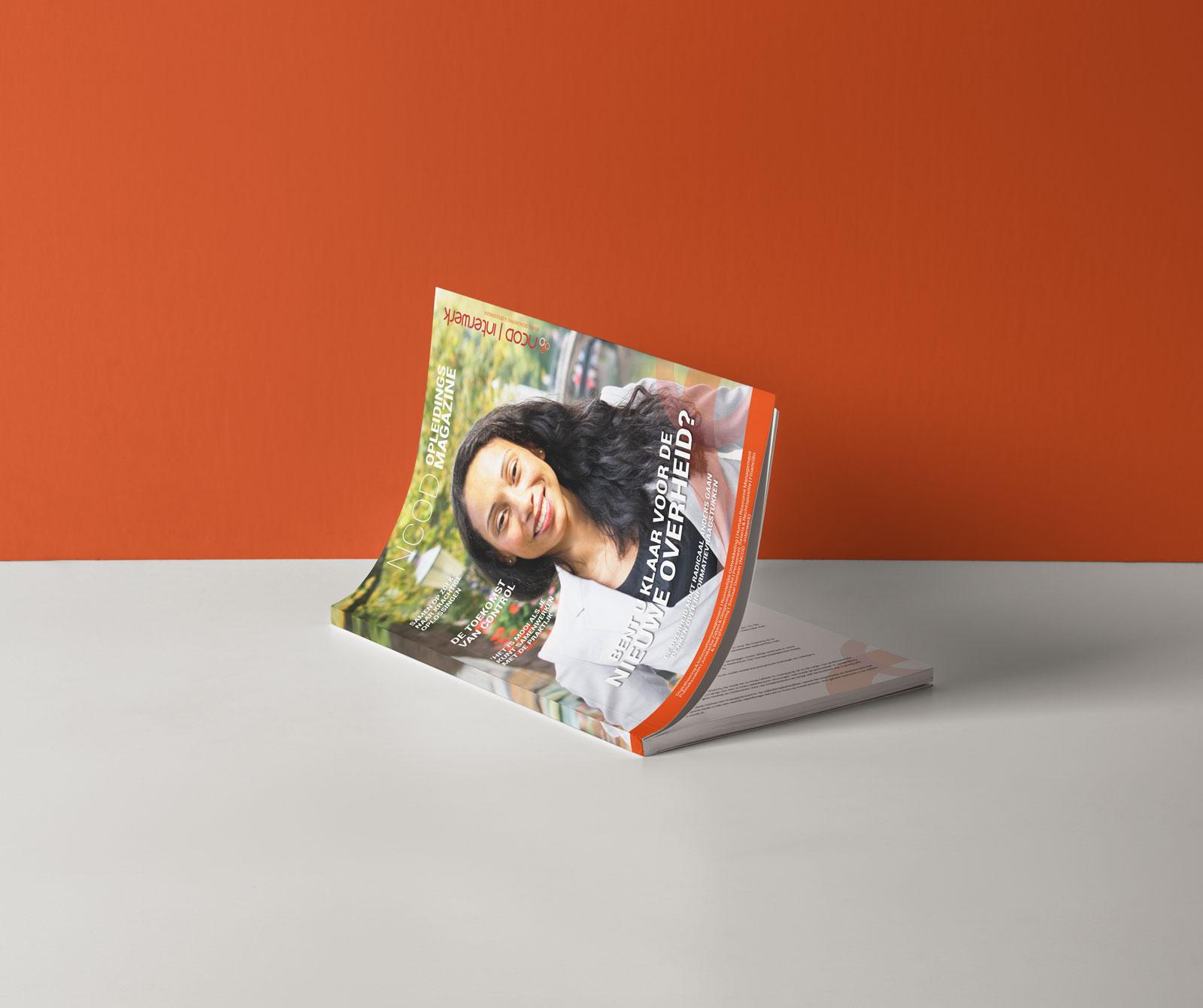 Beeldmarq - Grafische vormgeving & communicatie | Expertises | Magazine NCOD