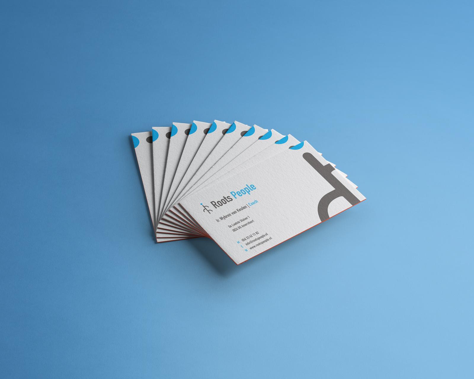 Beeldmarq - Grafische vormgeving & communicatie |Roots visitekaartjes Logo en Huisstijl