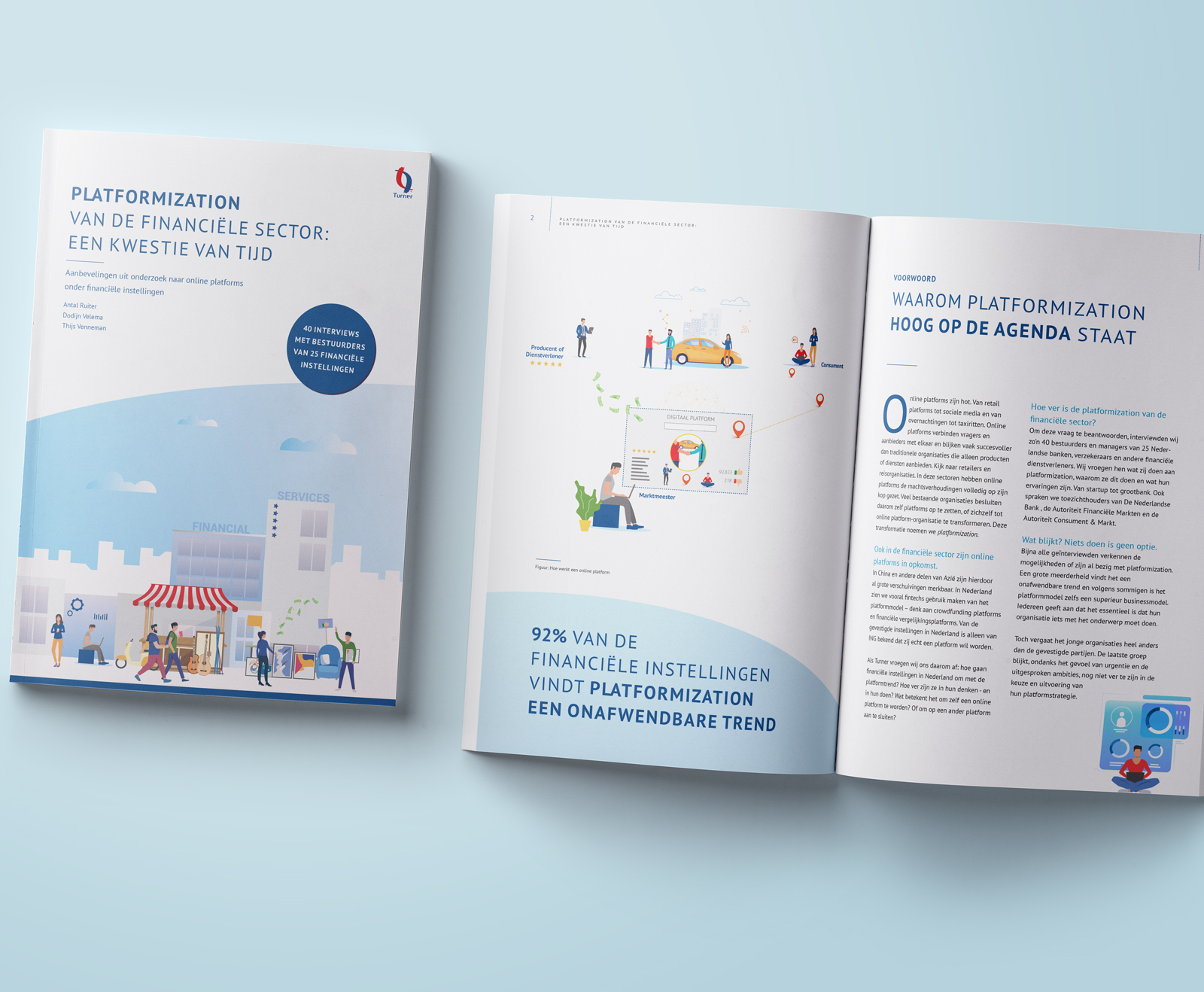 Beeldmarq | Turner Platformization | Print- en drukwerk | Infographics