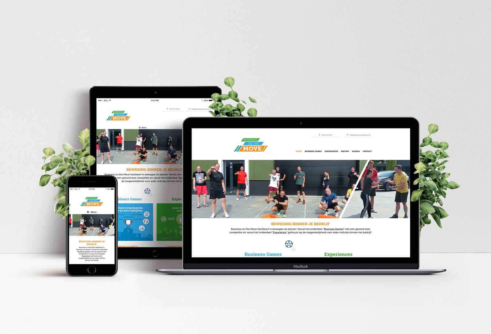 Website Business On The Move - Beeldmarq