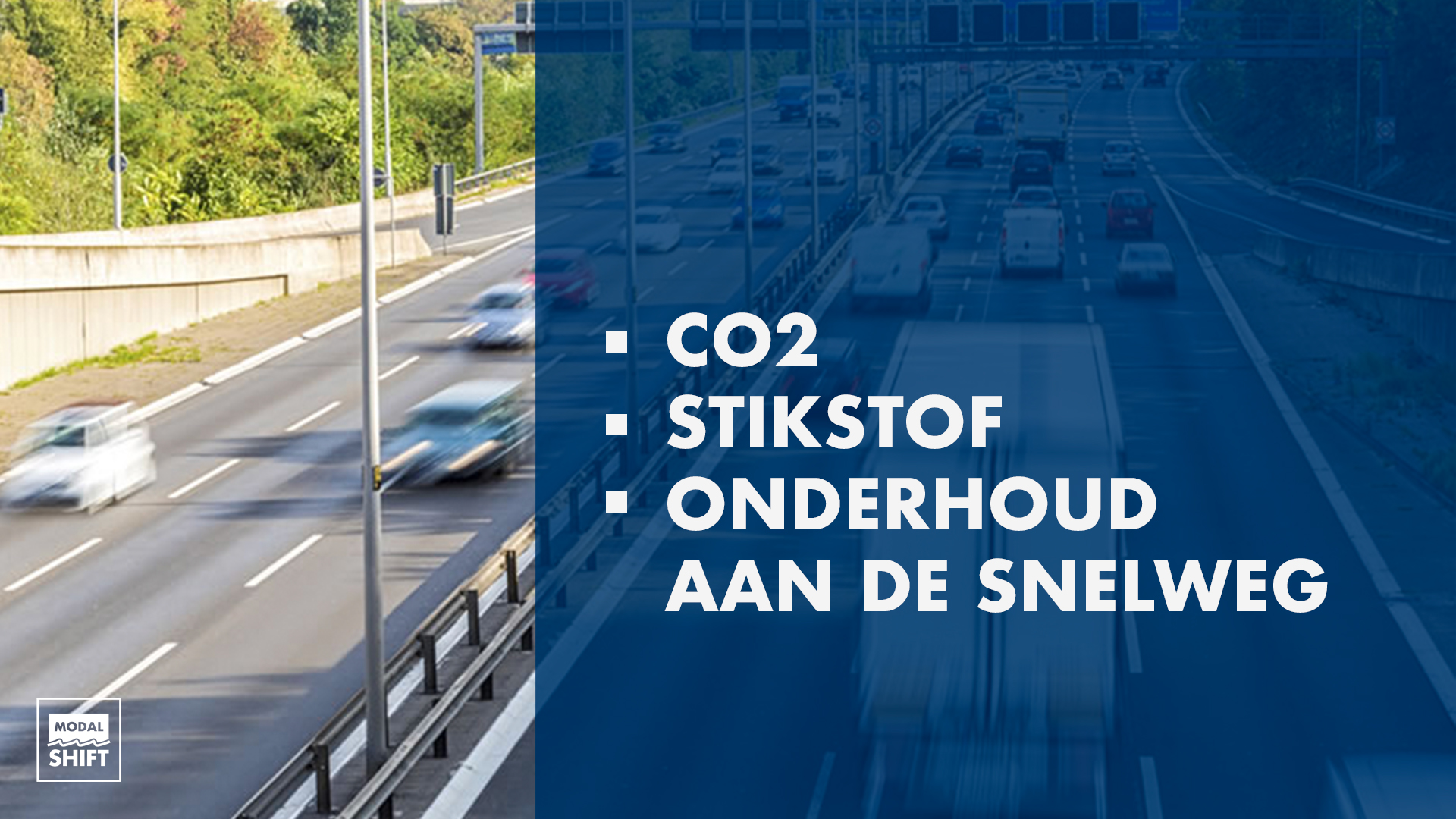 Modal Shift - voordelen - Beeldmarq - Rijkswaterstaat