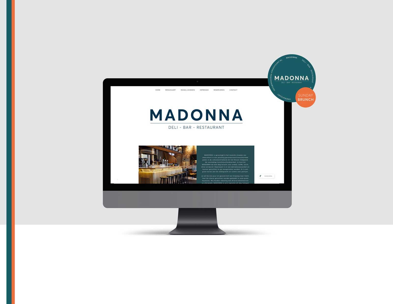 Madonna-website